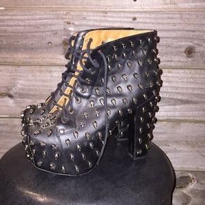 Jeffrey Campbell Black Sabbath Edition Heel Shoes